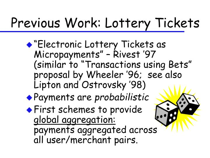 Previous Work: Lottery Tickets
