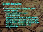 credit reports1