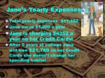jane s yearly expenses1