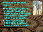 what about student loans1