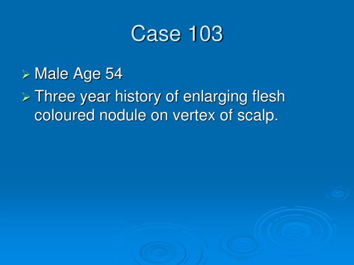 Case 103
