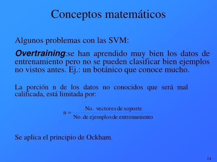 Conceptos matemáticos