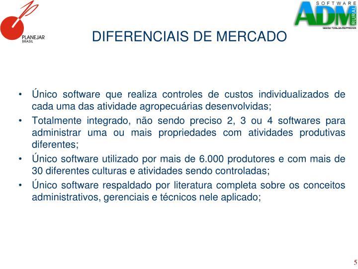 DIFERENCIAIS DE MERCADO