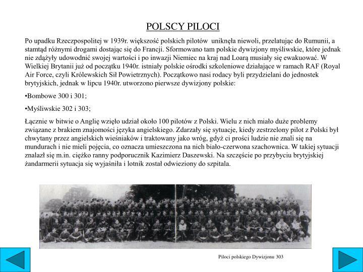 POLSCY PILOCI