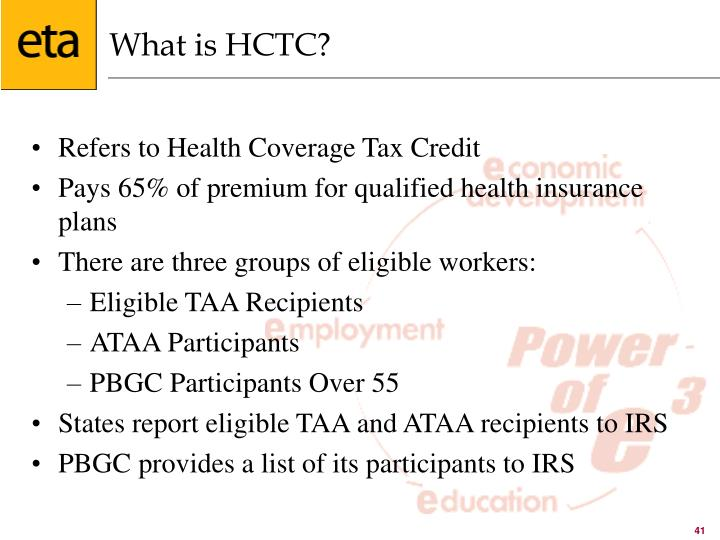 What is HCTC?