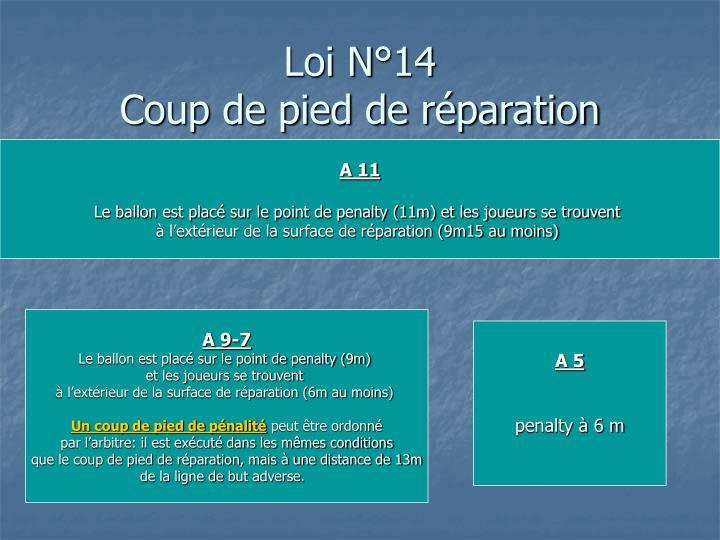 Loi N°14