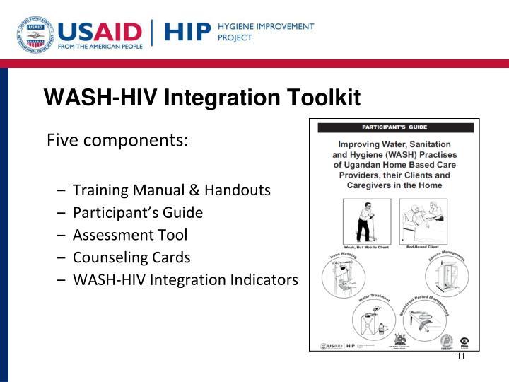 WASH-HIV Integration Toolkit