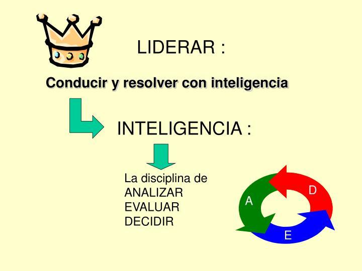 LIDERAR :