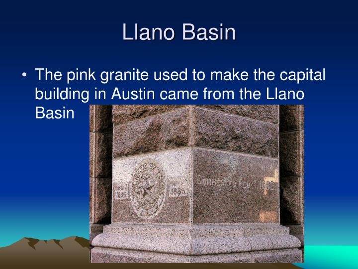 Llano Basin