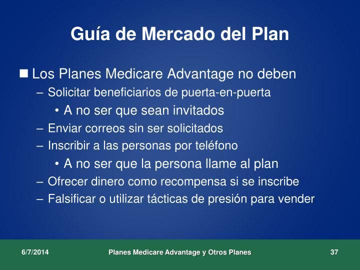 Guía de Mercado del Plan