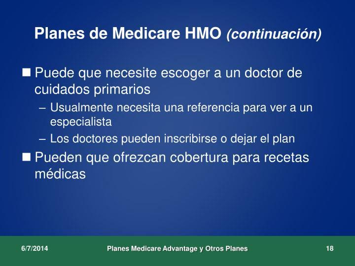 Planes de Medicare HMO