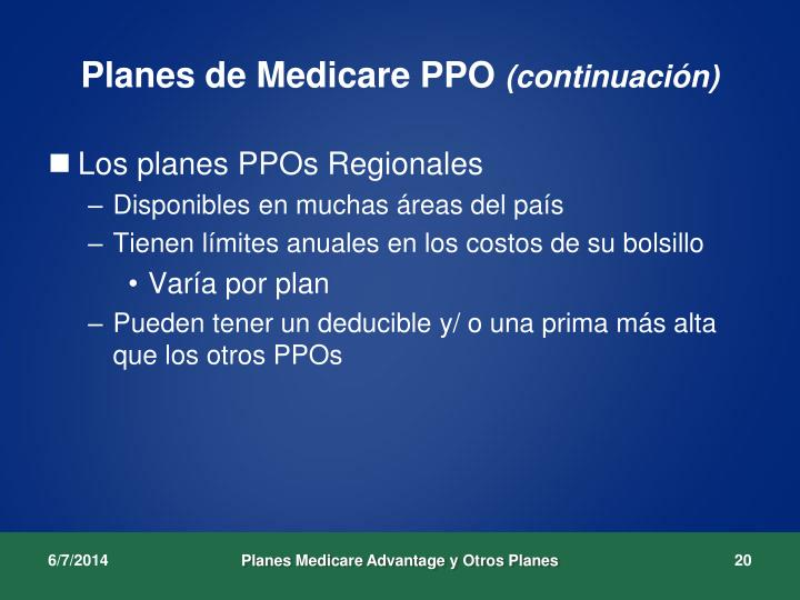 Planes de Medicare PPO