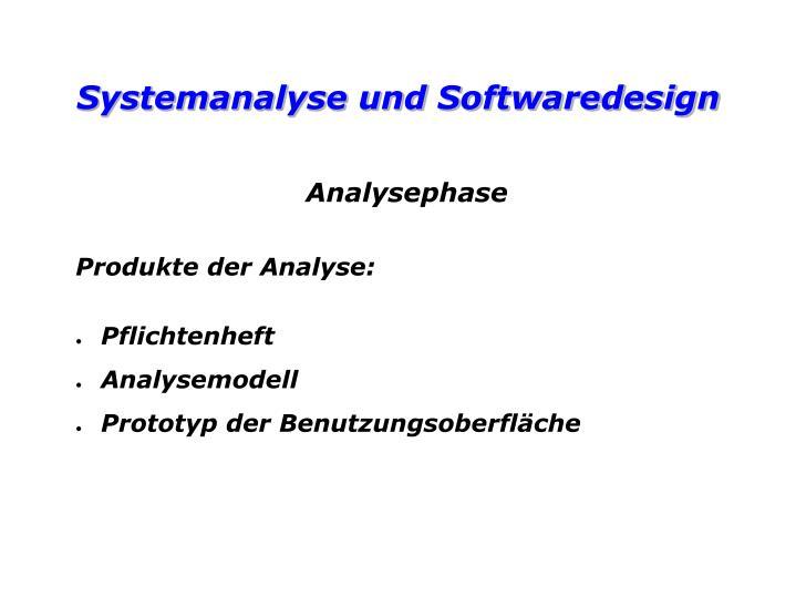 Analysephase