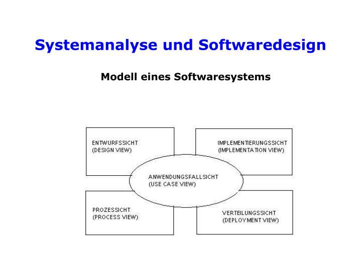Modell eines Softwaresystems