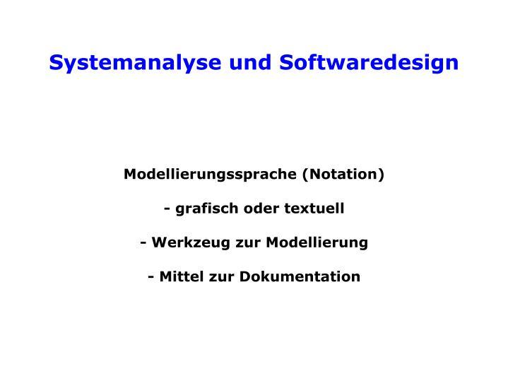 Modellierungssprache (Notation)