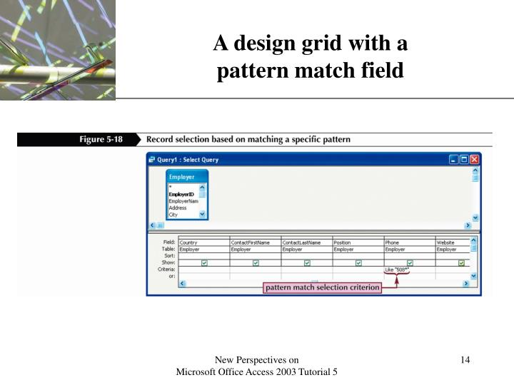 A design grid with a