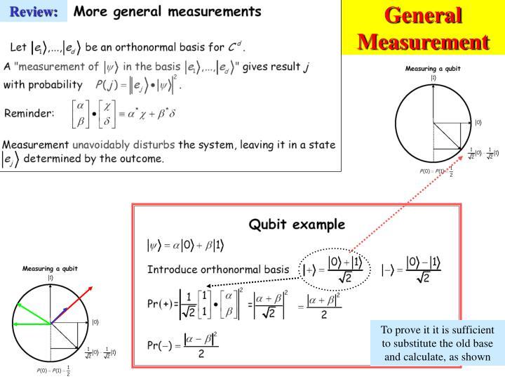 General Measurement