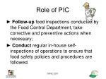 role of pic1