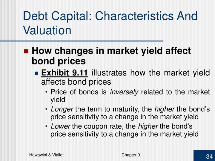 Debt Capital: Characteristics And Valuation