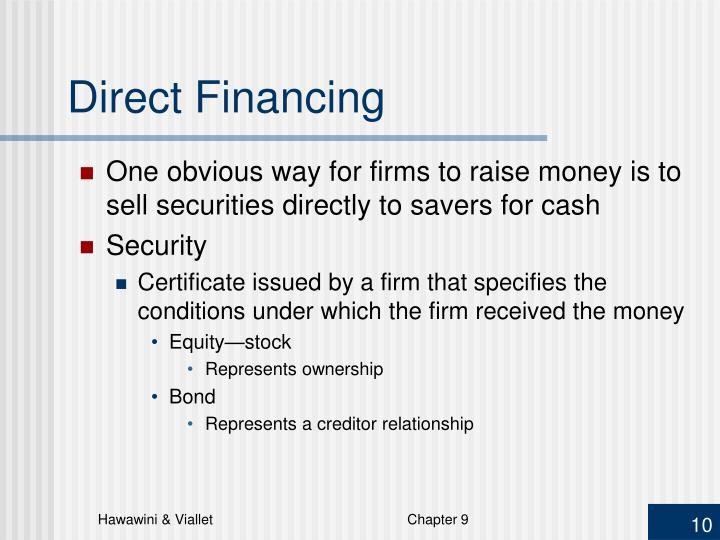 Direct Financing