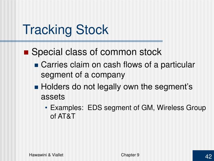 Tracking Stock