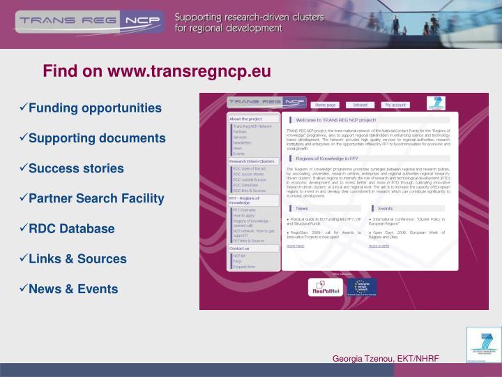 Find on www.transregncp.eu