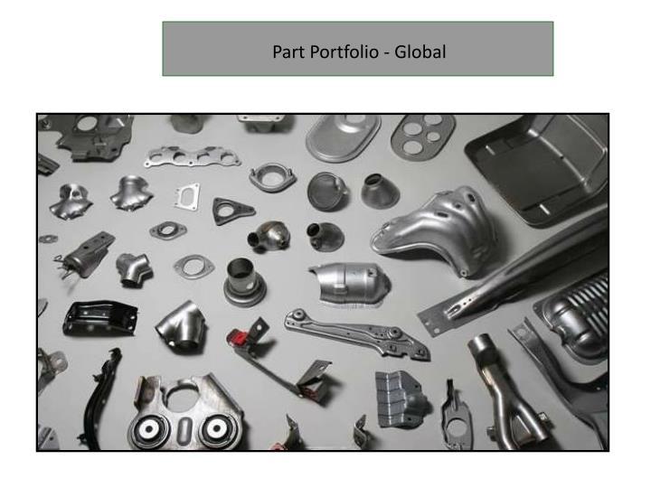 Part Portfolio - Global