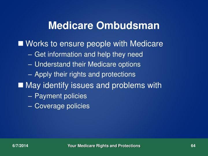 Medicare Ombudsman