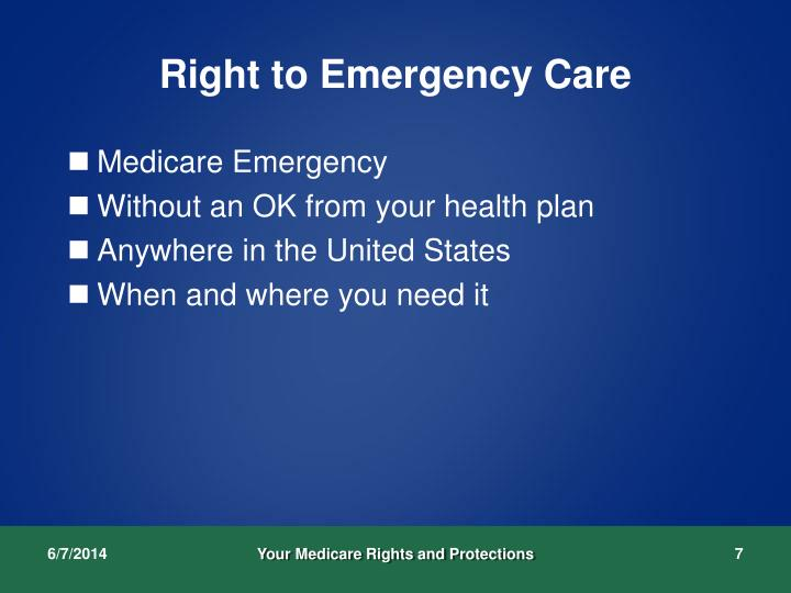 Right to Emergency Care