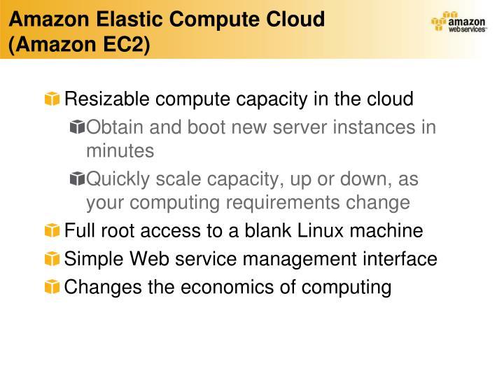 Amazon Elastic Compute Cloud