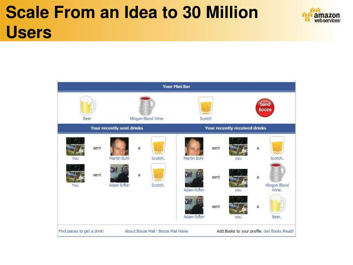 Scale From an Idea to 30 Million Users