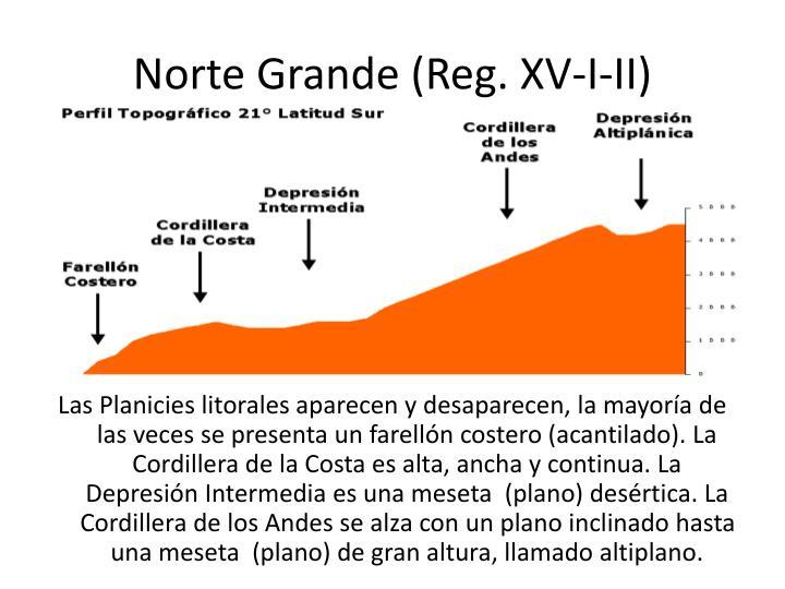Norte Grande (Reg. XV-I-II)