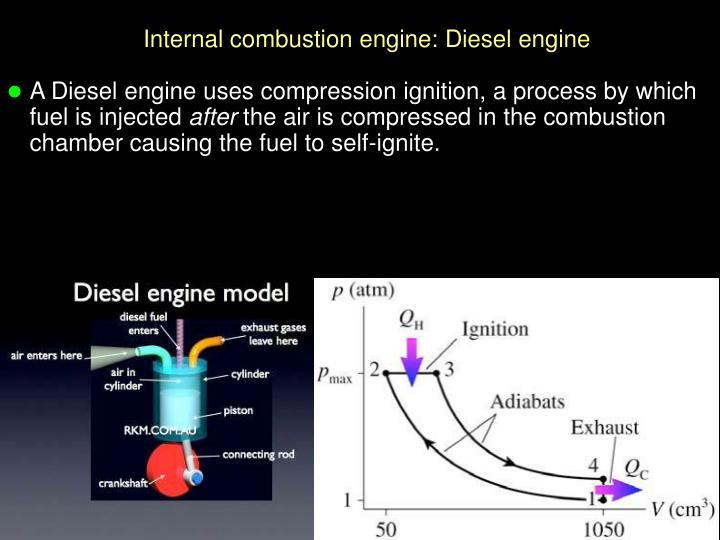 Internal combustion engine: Diesel engine