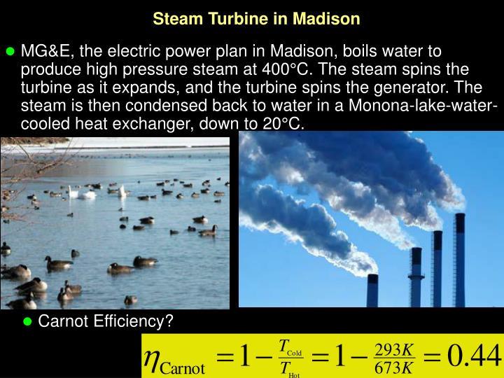 Steam Turbine in Madison