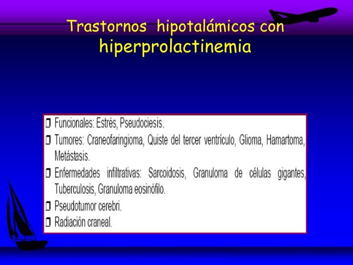 Trastornos  hipotalámicos con