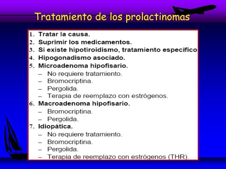 Tratamiento de los prolactinomas