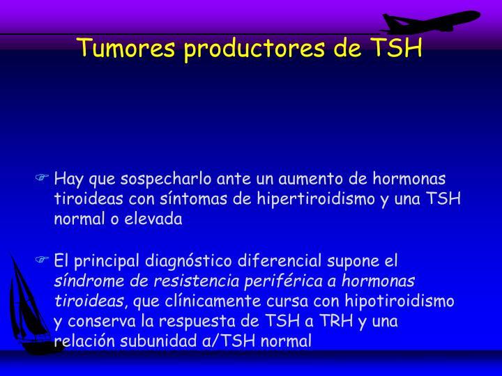 Tumores productores de TSH