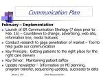 communication plan1