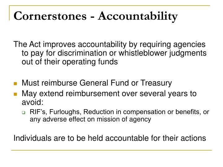 Cornerstones - Accountability