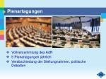 plenartagungen