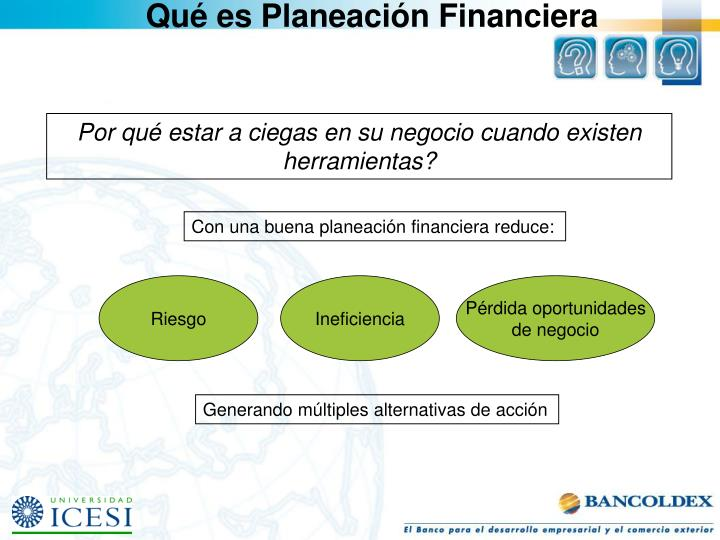 Qué es Planeación Financiera