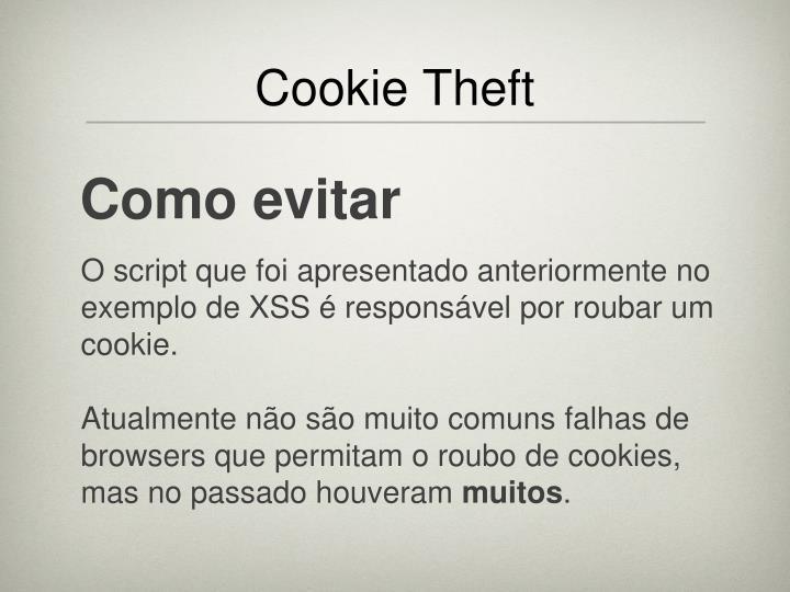 Cookie Theft
