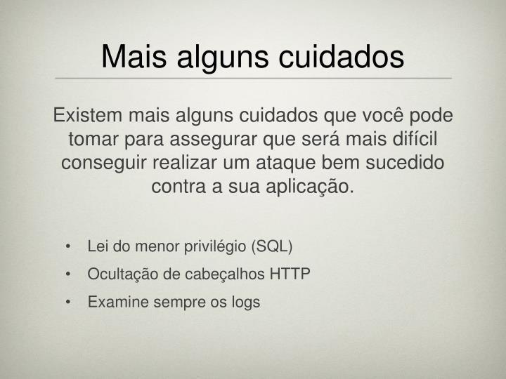 Lei do menor privilégio (SQL)