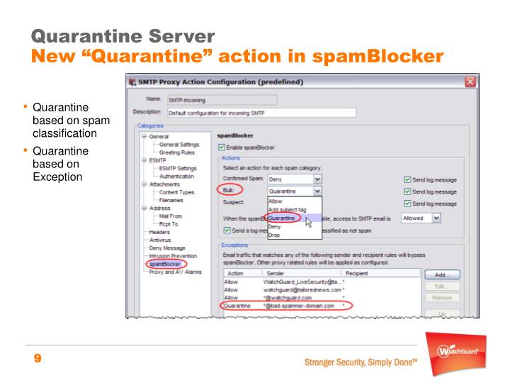 Quarantine Server