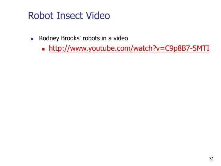 Robot Insect Video