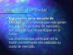 integraci n horizontal1