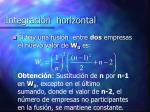 integraci n horizontal10