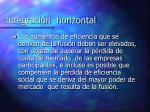 integraci n horizontal2