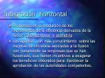 integraci n horizontal3