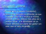 integraci n vertical23